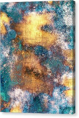 Golden Globe Canvas Print by Carly Ralph