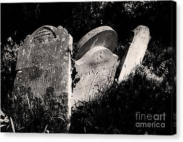 Gone But Not Forgotten Canvas Print by Darren Burroughs