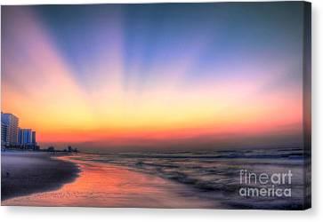 Good Morning Canvas Print by Jeff Breiman
