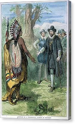 Governor John Winthrop Canvas Print by Granger