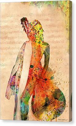 Gracias A La Vida Que Me Ha Dado Tanto Canvas Print by Mark Ashkenazi