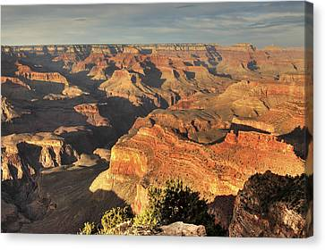 Grand Canyon From Hopi Point Canvas Print by A. V. Ley