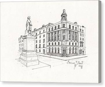 Grand Central Bar Dublin Canvas Print by Eamon Gilbert