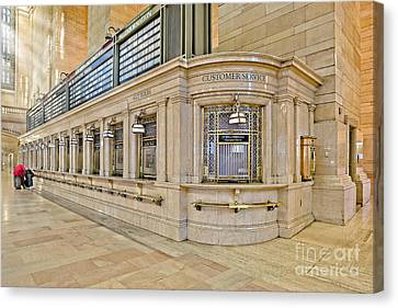 Grand Central Terminal Canvas Print by Susan Candelario