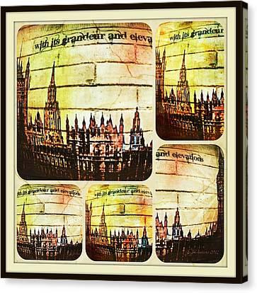 Grandeur And Elevation Canvas Print by Jan Steadman-Jackson