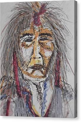 Grandfather  Spirit Canvas Print by Nashoba Szabol