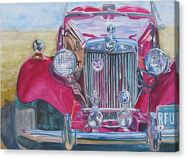 Grandpas Toy Canvas Print by Jenny Armitage