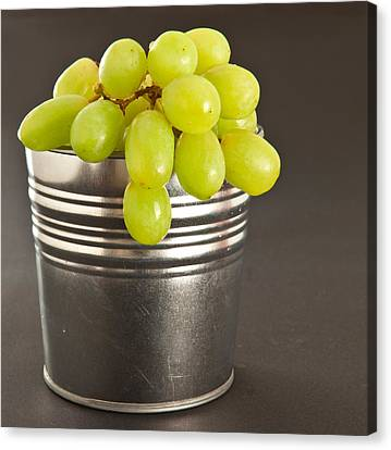 Grapes Canvas Print by Tom Gowanlock