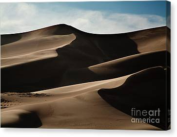 Great Sand Dunes Canvas Print by Keith Kapple