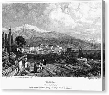 Greece: Yanina, 1833 Canvas Print by Granger