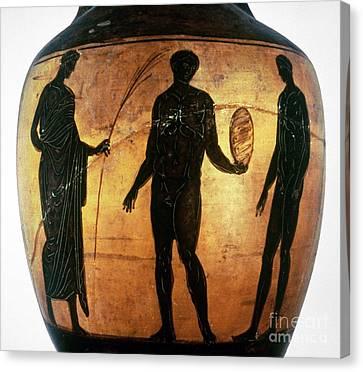 Greek Olympian Canvas Print by Granger
