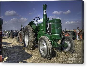 Green Field Marshall Canvas Print by Rob Hawkins