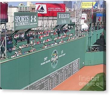 Green Monster Canvas Print by Kevin Fortier