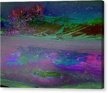 Canvas Print featuring the digital art Grow by Richard Laeton