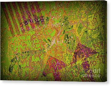 Grunge Background 4 Canvas Print by Carlos Caetano