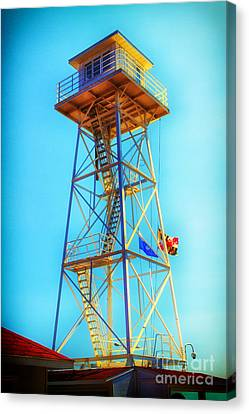 Guard Tower Canvas Print by Thanh Tran