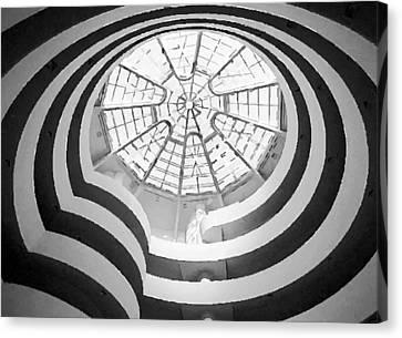 Guggenheim Museum Bw200 Canvas Print by Scott Kelley