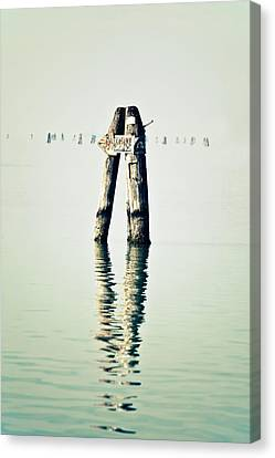Guide In The Sea Canvas Print by Joana Kruse