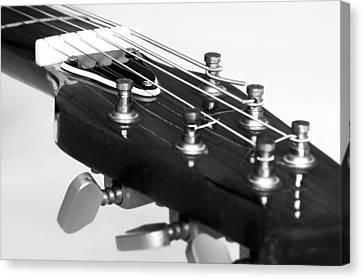Guitar Canvas Print by Svetlana Sewell