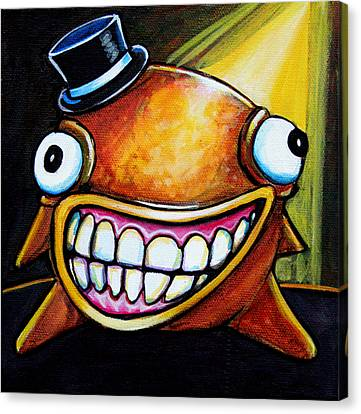 Gummy Stage Glob Canvas Print by Leanne Wilkes