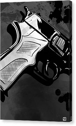 Gun Number 1 Canvas Print by Giuseppe Cristiano