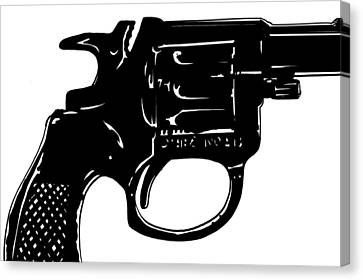 Gun Number 3 Canvas Print by Giuseppe Cristiano