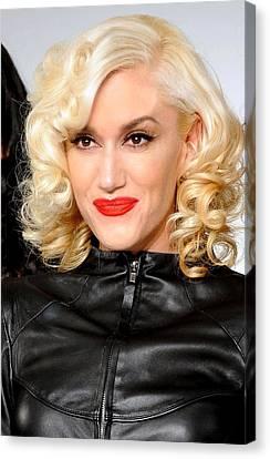 Gwen Stefani In Attendance For L.a.m.b Canvas Print by Everett