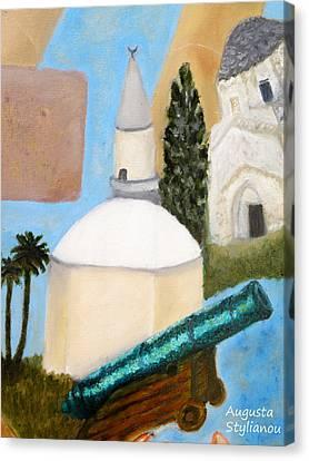 Hala Sultan Tekke Canvas Print by Augusta Stylianou