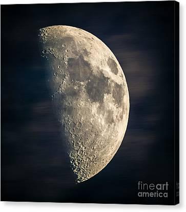 half moon III Canvas Print by Hannes Cmarits