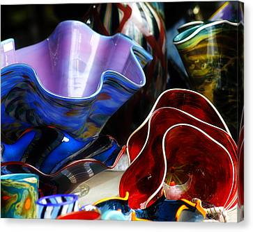 Hand Blown Glass 5 Canvas Print by Scott Hovind