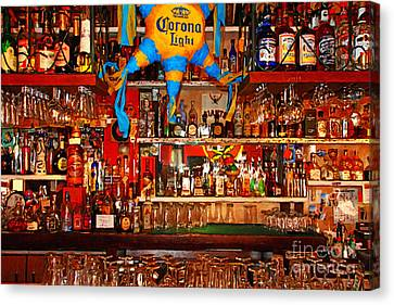 Happy Hour . 7d14187 Canvas Print by Wingsdomain Art and Photography