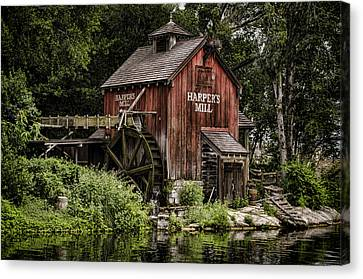 Harpers Mill Canvas Print by Heather Applegate