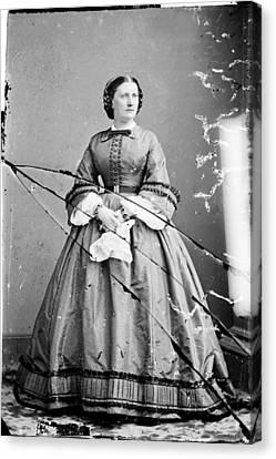 Harriet Lane, Niece Of  James Buchanan Canvas Print by Everett