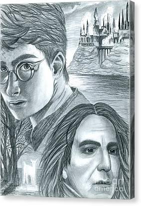 Harry Potter Canvas Print by Crystal Rosene