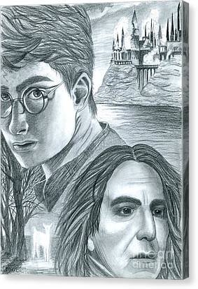 Harry Potter Canvas Print by Crystal Rosene