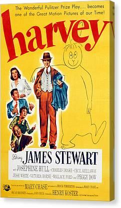 Harvey, Victoria Horne, Jesse White Canvas Print by Everett