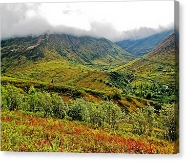 Hatcher Pass - Alaska Canvas Print by Cheryl Colaw