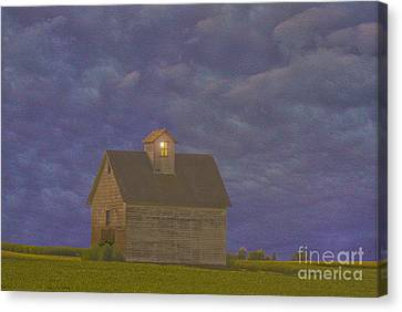 Haunted Barn Canvas Print by Jim Wright