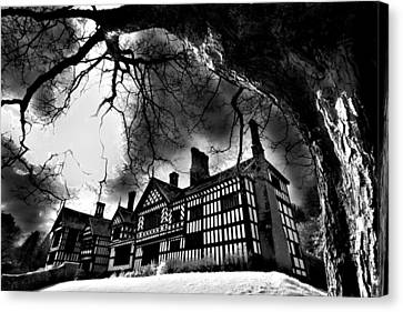 Haunted Hall Canvas Print by Matt Nuttall