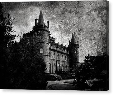Haunted Canvas Print by Laura Melis