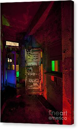 Haunted Stamford Hotel Canvas Print by Keith Kapple