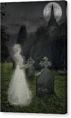 Haunting Canvas Print by Amanda And Christopher Elwell