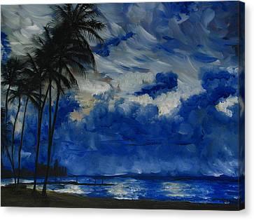 Hawaiian Sunrise Canvas Print by Sherry Robinson
