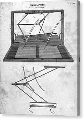 Hawkins Polygraph, 1803 Canvas Print by Granger