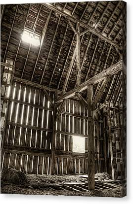 Hay Loft Canvas Print by Scott Norris