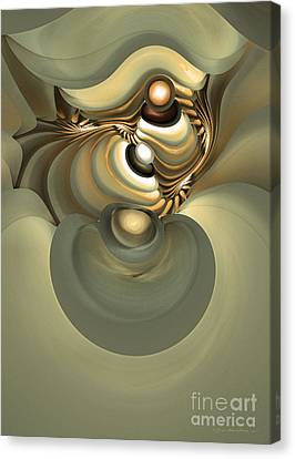 He Is Like His Father Canvas Print by Sipo Liimatainen