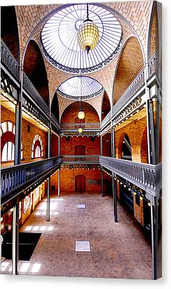 Hearst Mining Building Canvas Print by Leori Gill