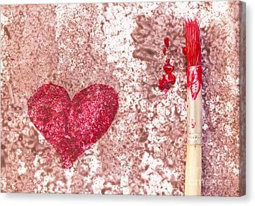Heart  Canvas Print by Igor Kislev
