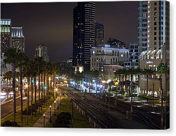 Heart Of The City Canvas Print by Benjamin Street