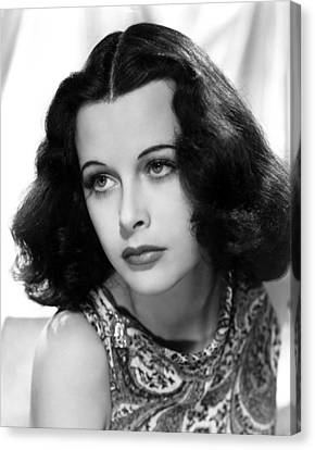 Hedy Lamarr, C. Early 1940s Canvas Print by Everett
